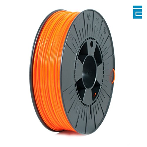 ICE Filaments ICEFIL1PLA039 PLA filament, 1.75mm, 0.75 kg, Fluo Obstinate Orange