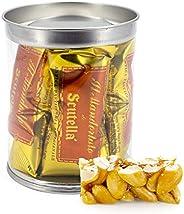 Torroncino Artigianale alle Mandorle [160 grammi] Barattolino - L'eccellenza del torrone della Pasticceria