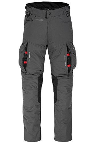 DIFI ATLAS AEROTEX® Motorradhose Color dunkelgrau/schwarz, Size XL