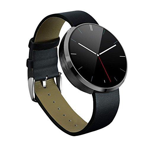 kobwa-tout-en-un-dm360-wearable-smart-watch-avec-boitier-en-acier-pur-controle-vocal-mains-libres-bl