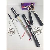 Bambini Ninja Spada Giocattolo Armi Set Tartarughe Ninja Per Adolescenti Film Vestito Operato