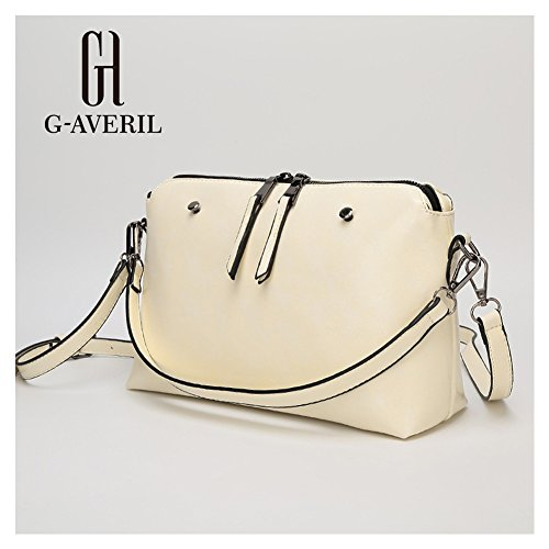 G-AVERIL, Borsa a mano donna giallo Yellow White