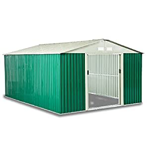 Box casetta per giardino da esterno lamiera zincata for Armadi da esterno obi
