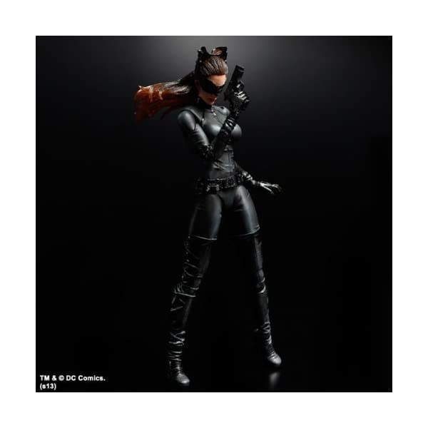 Batman Play Arts - Figura de acción de Catwoman del Caballero Oscuro 6