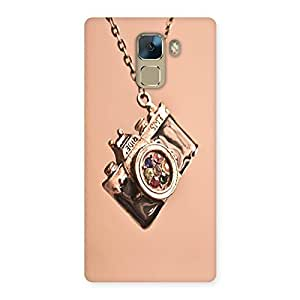 Neo World Vintage Camera Back Case Cover for Huawei Honor 7