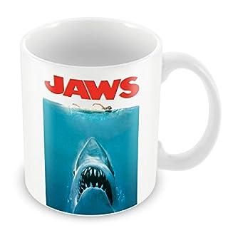 Mug Jaws White Sharks Sea