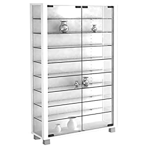 41iQAvrWYtL. SS300  - VCM Stand Cabinet Lumo Mini White/Without LED Lighting