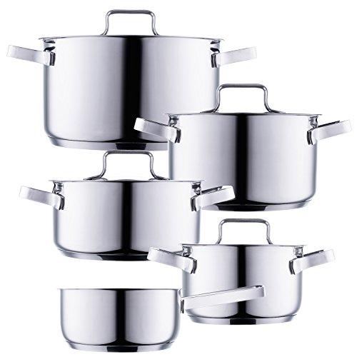 Style' n Cook pentola set Bingen 5pezzi set di pentole 18/10in acciaio inox