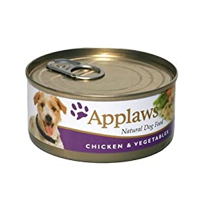 Applaws Dog Food Chicken & Vegetable 24 x 156g 3744g from Applaws