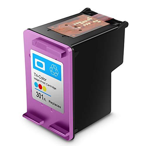 AIcase ersetzt HP 301XL, Remanufactured Druckerpatronen, Druckköpfe kompatibel zu HP 301XL Tintenpatronen
