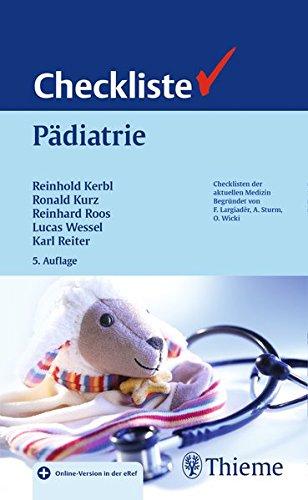 Checkliste Pädiatrie (Checklisten Medizin)