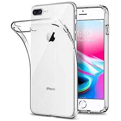 """Yichxu iPhone 7 Hülle, Crystal Clear Silikon Handyhülle für iPhone 8, Weiche TPU Durchsichtige Schutzhülle Ultradünn Case Cover für iPhone 7/8 4.7\"""" - Transparent"""