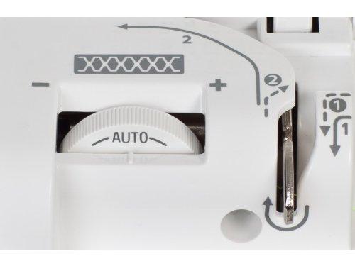 W6 WERTARBEIT N 3300 Computer-Nähmaschine (Nähen, Patchen, Quilten (120 Programme)) weiß