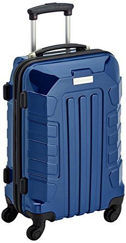 Bagages Zone Coque de transport rigide sur, Nombre, droite, serrure, 39/23/50 cm, 3 ans de garantie, Bleu marine (Bleu) - LZ8166-20-N