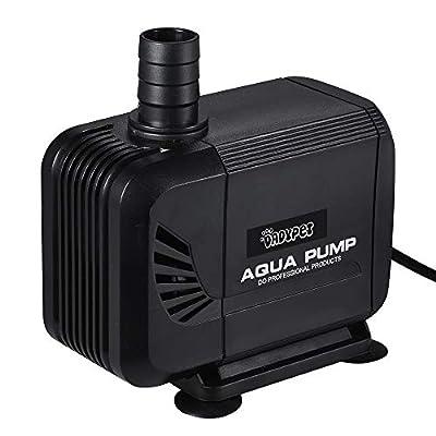 DADYPET Pompe Aquarium, Pompe à Eau Submersible, Pompes de Piscine, Multifonctionnelle et Silencieuse