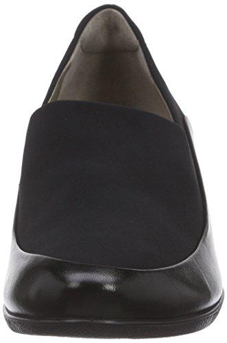 Ecco Ecco Sculptured 45 W, Mules femme Noir - Schwarz (BLACK/BLACK51707)