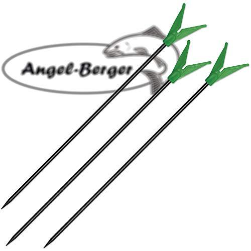 Angel-Berger Metall Rutenhalter 3 Stück
