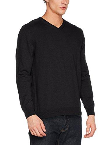 Pierre Cardin Herren Pullover Knit V-Ausschnitt, Grau (Anthrazit 2100), X-Large (Blend Pullover Graue)