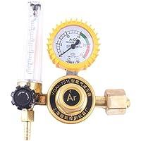 Gugutogo Medidor de Flujo de argón de Gas CO2 Mig TIG Control de Soldadura autógena Regulador Gauge Soldador de Oro y Amarillo