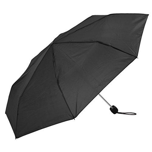 Le Monde du Parapluie Paragua plegable, Negro  (Negro) - SUSINOCS3501BNOIR Le Monde du Parapluie