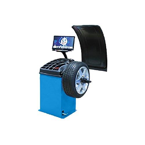 Auswuchtmaschine Reifen Vollaut. mit Messarm LCD-Monitor 1/22 230V 10 - 30 Sirio RAV S3140RS(G3.140RS)