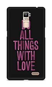 Amez designer printed 3d premium high quality back case cover for Oppo R7 Plus (Love Quote 4)