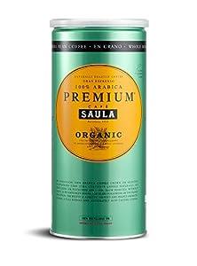Premium Organic Coffee Beans - Café Saula's Award Winning 100% Arabica Spanish Espresso Blend 500g