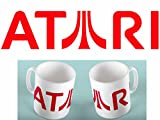 oneoffboutique Geek 313ml Kaffee Tee Tasse Atari Retro Spiele Konsole Tasse