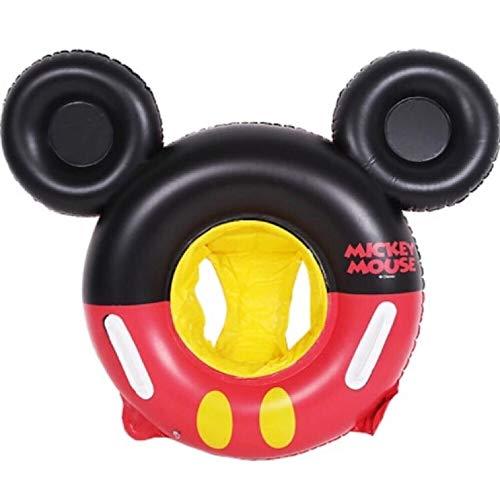 Showcan Kinder Schwimmring Micky Maus mit Sitz für Kinder von 6 Monaten bis 5 Jahren