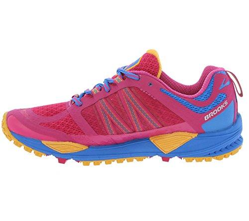 Brooks Cascadia 11, Chaussures de Running Compétition Femme Rose - Rosa