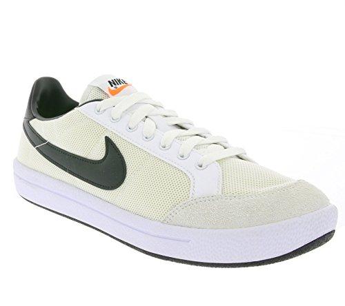 Nike Meadow 16 TXT, Chaussures de Tennis Homme, Blanc Blanc (blanc / noir)