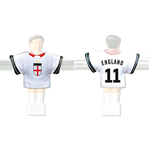 Kicker-Trikot Tischfussball Zubehör Trikot-Set England