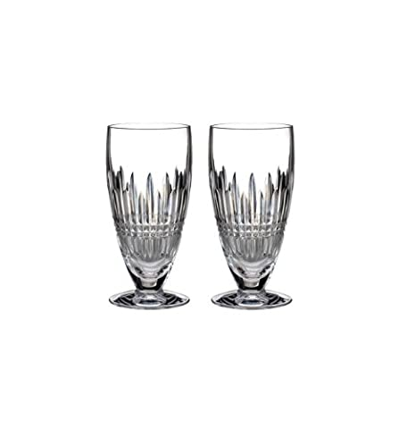Waterford Lismore Diamond Iced Beverage Pair