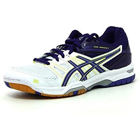 Shoes GEL-ROCKET 7 WHITE/LAVENDER/PURPLE 14/15 Asics 6 (US) WHITE/LAVENDER/PURPLE
