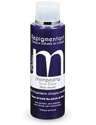 mulato - shampooing repigmentant terre bleue déjaunissant blond polaire - contenance : 200 ml