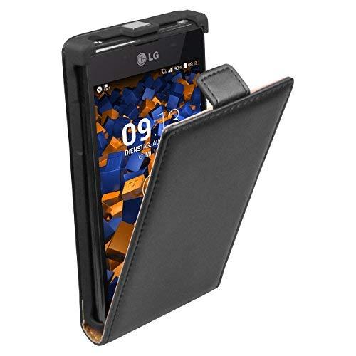 mumbi PREMIUM Leder Tasche für LG P700 Optimus L7 Lg Tasche