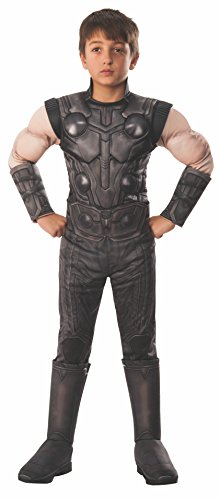 Rubie' s Ufficiale Avengers Infinity Wars Thor, Deluxe Child Costume