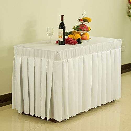 ZLL Tischtuchdecken, Home Tischdecken, runder Tisch Tischdecken, Hotel Tischdecken Konferenztischdecke Bankett Tischkleid Ausstellung Aktivitäten Tuchkleid mit vielen Größen für das Abendessen-Pickni
