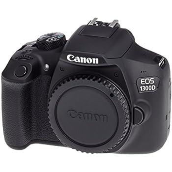 Canon EOS 1300d BLK Body Cámara Réflex Negro: Amazon.es: Electrónica