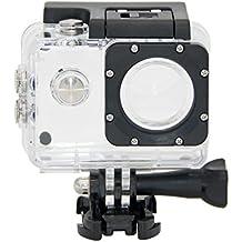 SJCam SJ-WATPR-4000 - Carcasa estanca original SJCAM compatible con modelos de la serie SJCAM SJ4000, transparente