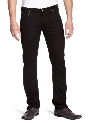 Lee - Jeans da uomo, Nero (Black - Noir), 46 IT (32W/34L)