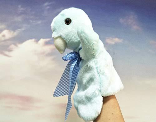 XuBa Kinder Handpuppe Spielzeug Vogel mit Fliege Baby Kind Plüsch Stofftier Spielzeug für Weihnachten Geburtstag Geschenk Vogel-Motiv
