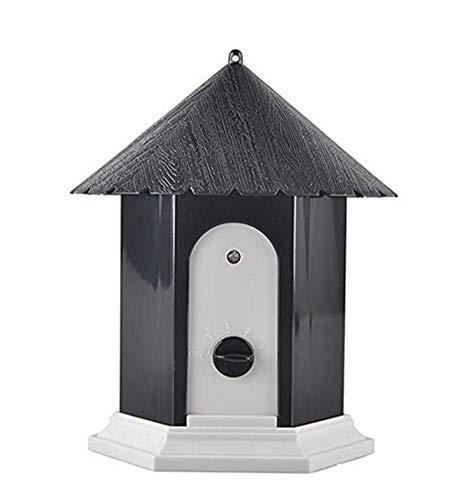 ZQEMU Ultraschall-Bellkontrolle für Innen- und Außenbereich mit Anti-Schnarchen für Hunde und Bellen Verwendbar für Hunde Aller Größen, 50 Fuß Effektiv,Black