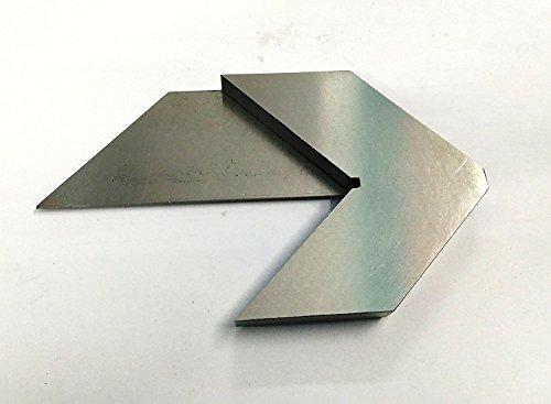 Präziser Zentrier- und Mittefinder, Fräszubehör, 140 mm lange Klinge, zum besonders schnellen Finden der Mitte auf allen runden Objekten von bis zu 75mm Durchmesser