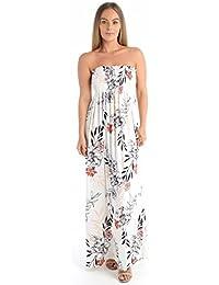 Damenmode Kleidung & Accessoires New Celebrity Kim Kardashian Ladies Roses Strappy Bodycon Midi Dress 8-22 Uk