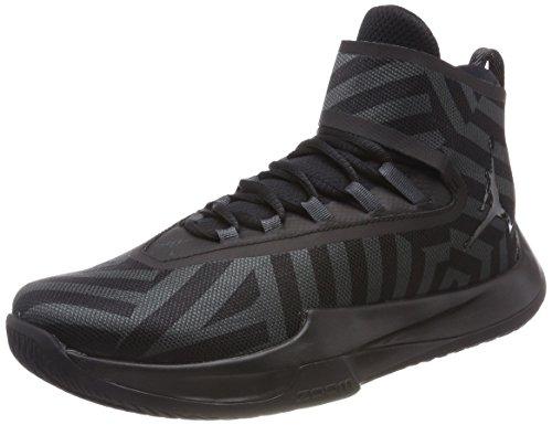 Nike Herren Jordan Fly Unlimited Basketballschuhe, Grau (Anthraciteblackblackblack 012), 45 EU (Schuhe Für Männer-nike Air Jordan)