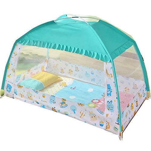 Jerome10Dan Mosquito Netze, Kinder Yurt Net Kinderbett Moskitonetz verhindern Insekt, Sorgen für Luftstrom Pop Up Zelt Vorhänge -