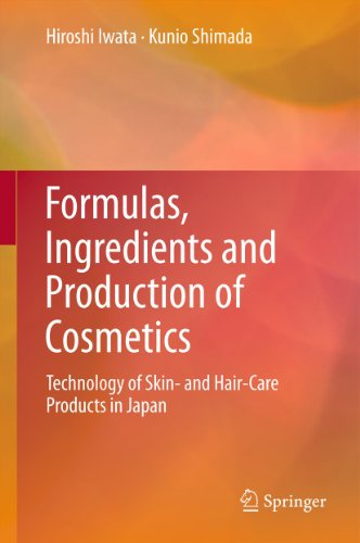 Formulas, Ingredients and Production of Cosmetics: Technology of Skin- and Hair-Care Products in Japan (English Edition)