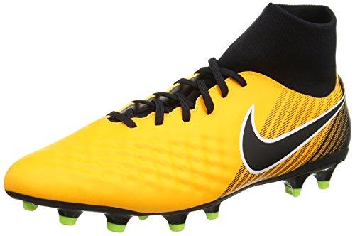 Nike Herren Magista Onda II DF FG Fußballschuhe, Orange (Laser Orange/Black-White-Volt-White), 43 EU (8.5 UK) (Nike Magista Fußball Schuhe)