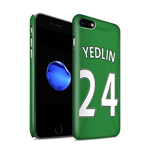 Offiziell Sunderland AFC Hülle / Matte Snap-On Case für Apple iPhone 7 / Harper Muster / SAFC Trikot Away 15/16 Kollektion Yedlin